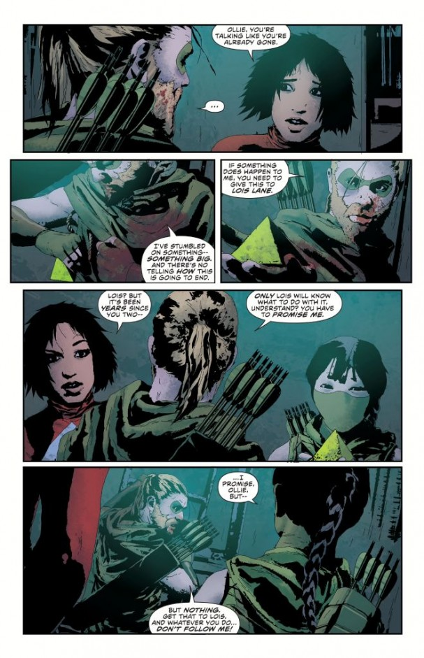Team Arrow : 5 years later (Green Arrow: Futures End #1, September 2014)