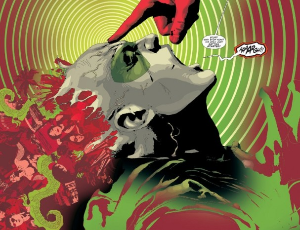 Artist Andrea Sorrentino blows our minds in Green Arrow #22 (DC Comics) -