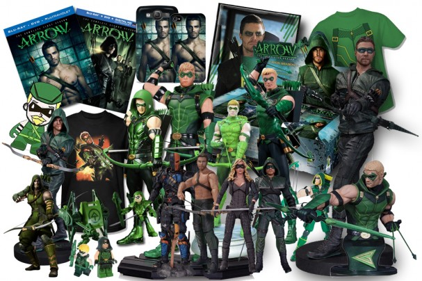 Green Arrow Merchandise (2011 - 2014)