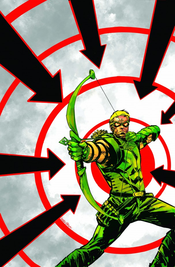 Promotional image for <i>Green Arrow 35</i>  (DC Comics). Artist:  Garry Brown