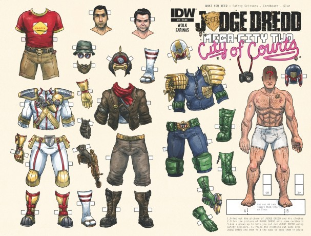 Judge Dredd: Mega-City Two #2 (IDW) - Artist: Ulises Farinas