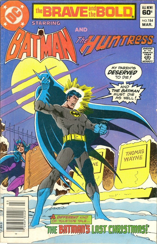 The Brave and the Bold #184 (DC Comics) - Artist: Jim Aparo (March 1982)