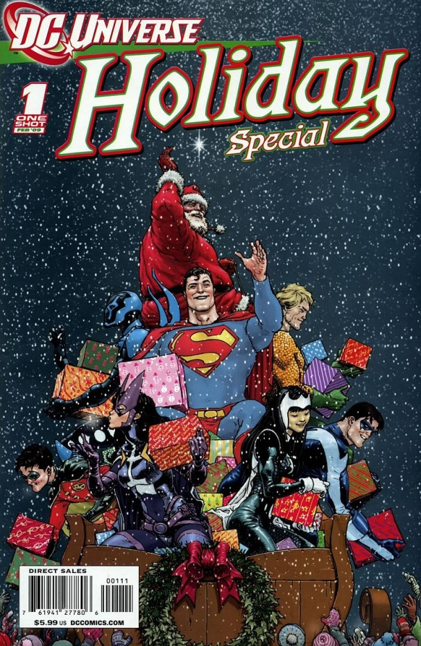 DC Universe Holiday Special (DC Comics) - Artist: Frank Quitely (February 2009)