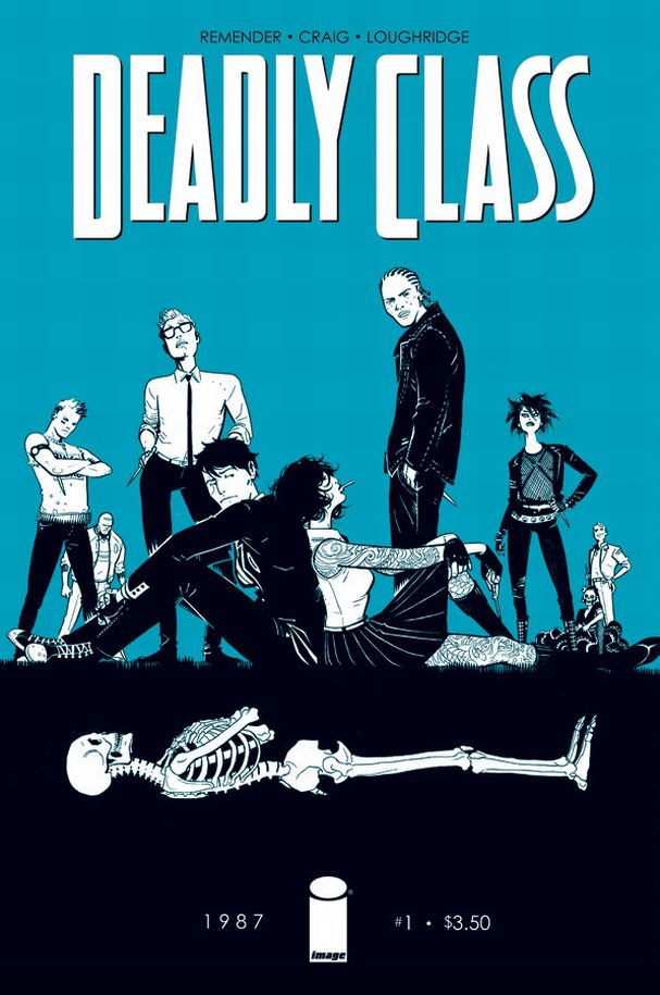 Deadly Class #1 (Image Comics) - Artist: Wesley Craig and Lee Loughridge