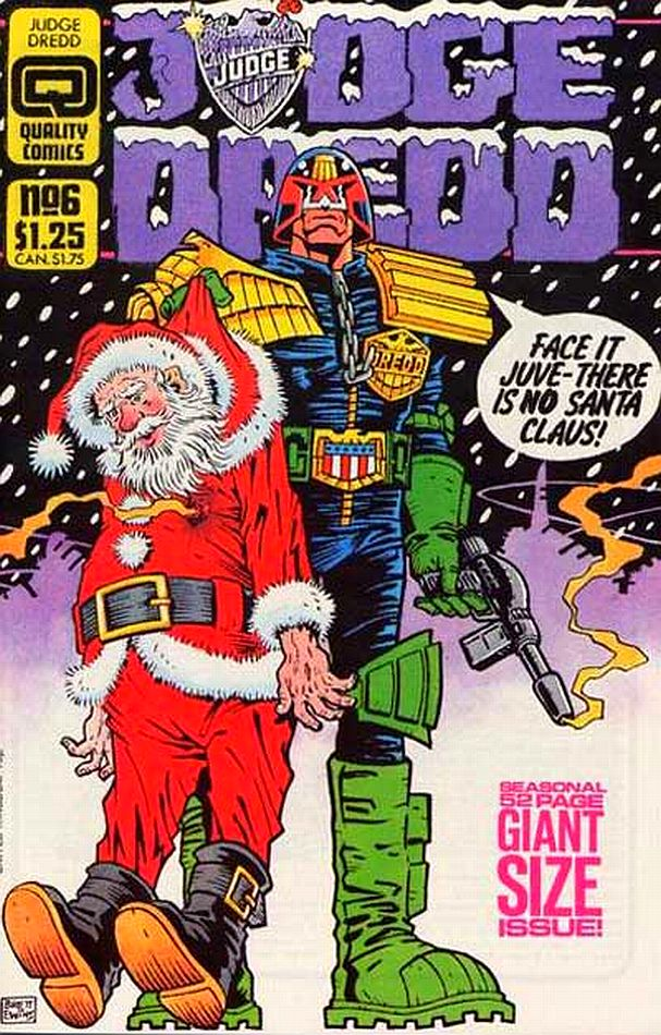 Judge Dredd #36 (Fleetway Quality) - Artist: Brett Ewins (March 1987)