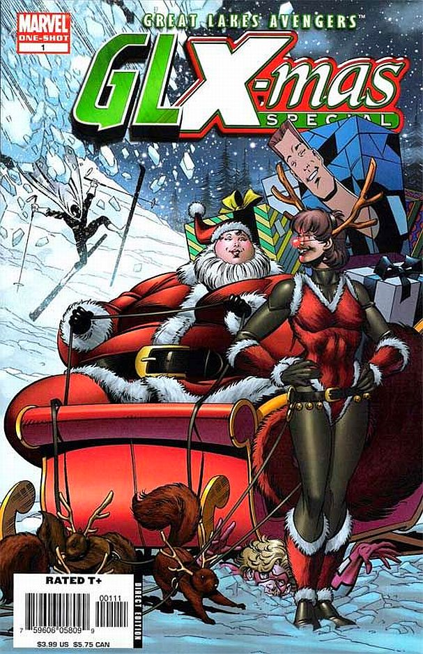 GLX-Mas Special #1 (Marvel) - Artist: Paul Pelletier (December 2005)