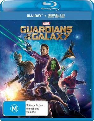 Guardians of the Galaxy Blu-ray (Australia)