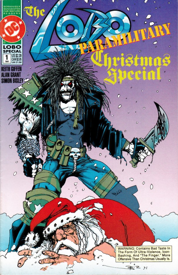 The Lobo Paramilitary Christmas Special #1 (DC Comics) - Artist: Simon Bisley (December 1991)