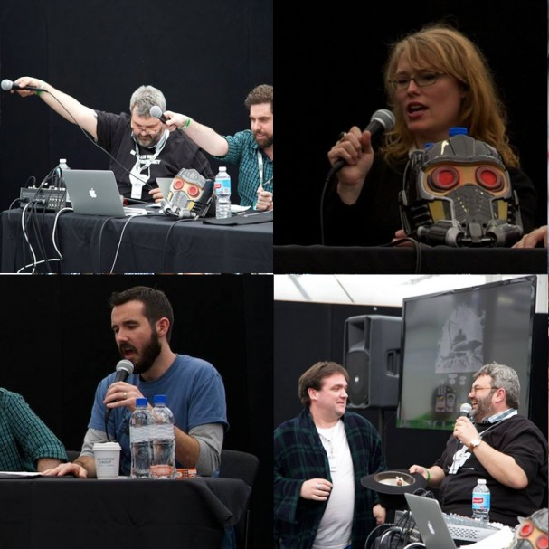 Behind The Panels Live at Oz Comic-Con