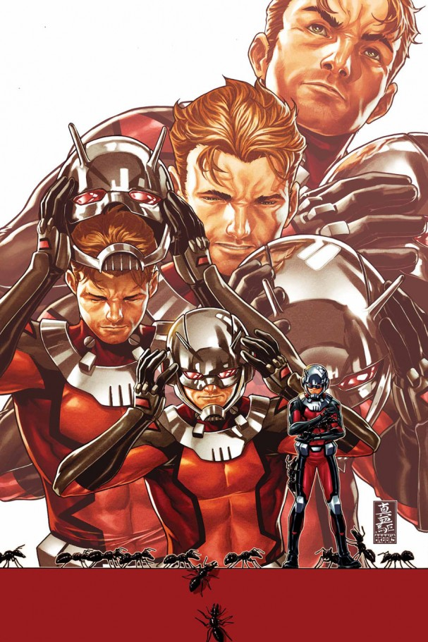 Ant-Man #1 (Marvel) - Artist: Mark Brooks
