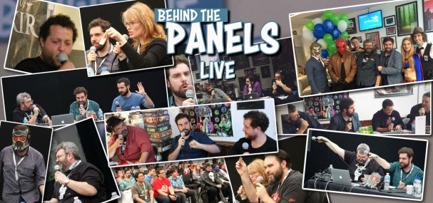 Behind The Panels Live - Richard Gray, David McVay, Dave Longo
