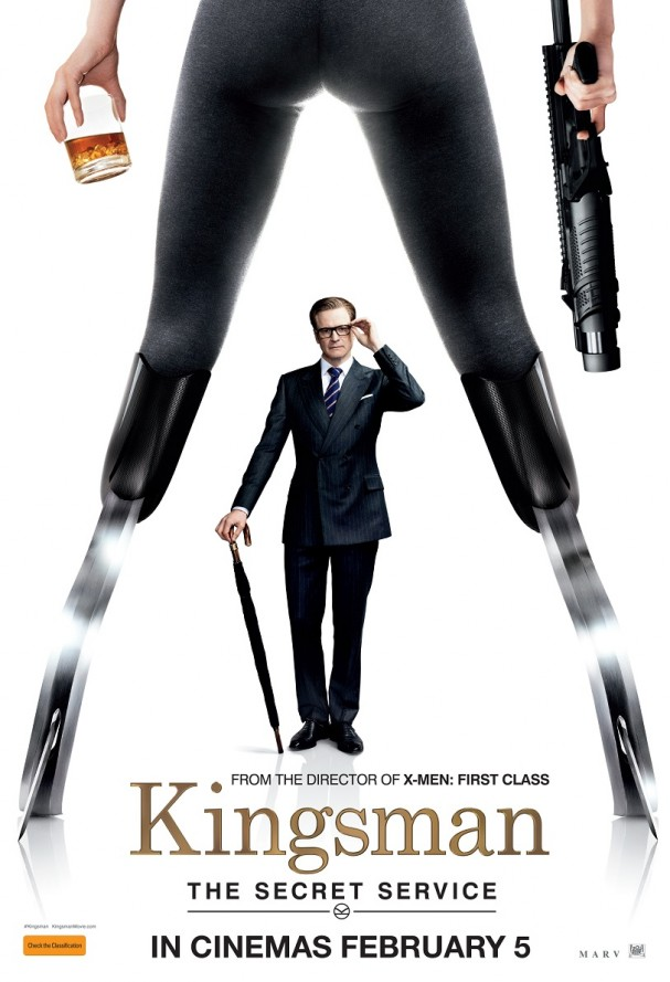 Kingsman: The Secret Service (Australian poster)