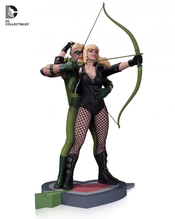 DC Green Arrow/Black Canary statue - Based on Cliff Chiang art