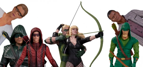 Green Arrow Toy Fair 2015