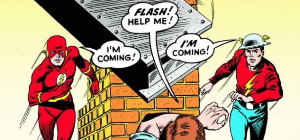 Flash of Two Worlds (Flash #123) - 1959