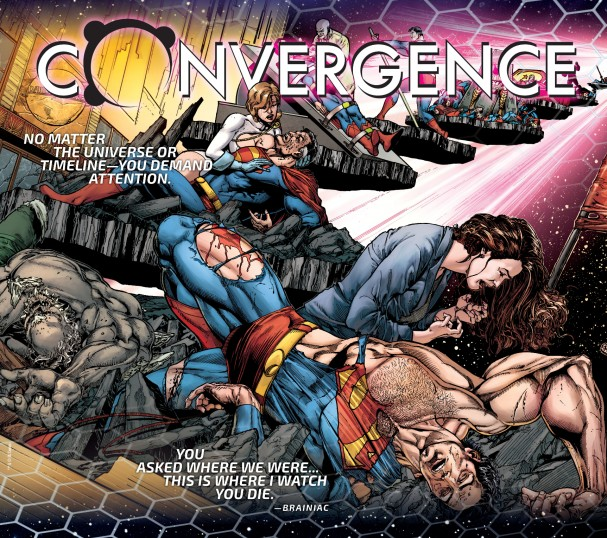 Convergence - Death of Superman