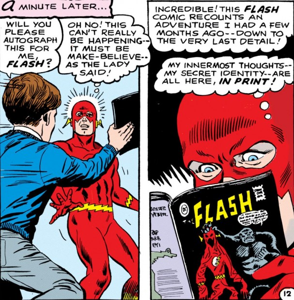 Is The Flash fact or fiction? - The Flash #179 (May 1968)