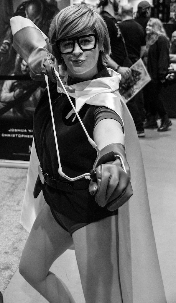 Emerald City Comic-Con (2015) cosplay - Carrie Kelley. Photo by Richard Gray for Behind The Panels