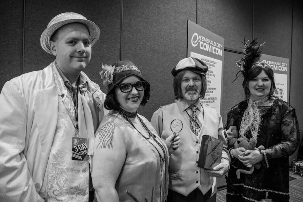 Emerald City Comic-Con (2015) cosplay - 1920s Scooby Gang. Photo by Richard Gray for Behind The Panels