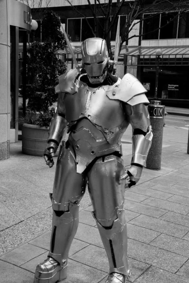 Emerald City Comic-Con (2015) cosplay - Ultron. Photo by Richard Gray for Behind The Panels