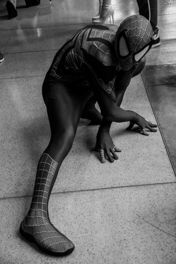 Emerald City Comic-Con (2015) cosplay - Spider-Man. Photo by Richard Gray for Behind The Panels