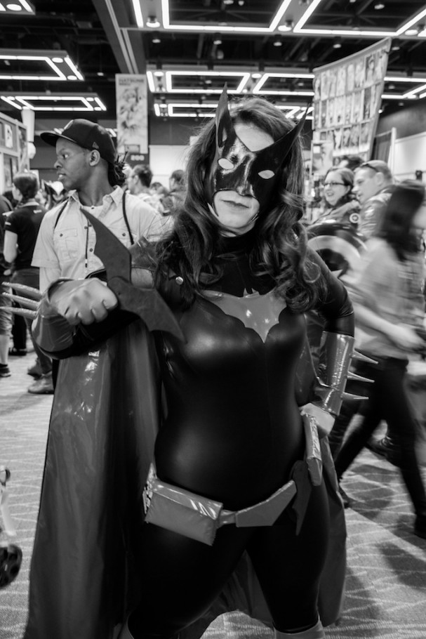 Emerald City Comic-Con (2015) cosplay - Batwoman. Photo by Richard Gray for Behind The Panels