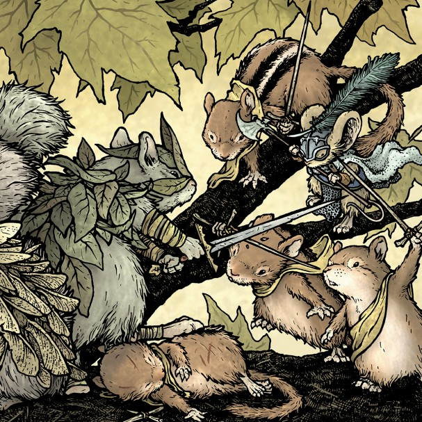 Mouse Guard: Legends of the Guard Volume 3 #2 (Boom Studios/Archaia) - Artist: David Petersen