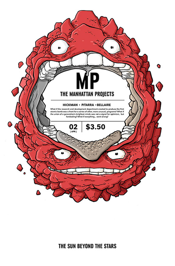 The Manhattan Projects: The Sun Beyond the Stars #2 (Image Comics) - Artist: Nick Pitarra
