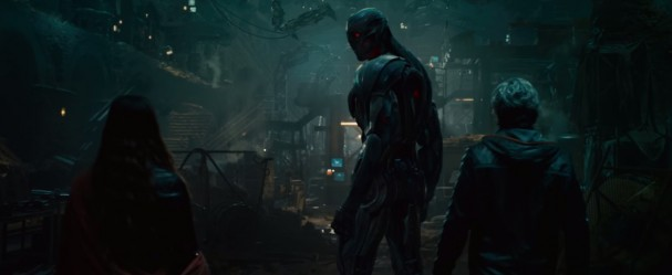 Avengers: Age of Ultron - Quicksilver, Ultron and Scarlet Witch