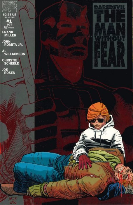 Daredevil: The Man Without Fear #1 (Marvel Comics)