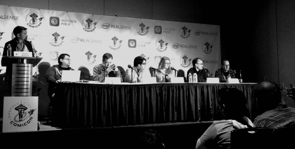 Emerald City Comic-Con DC Panel 2015