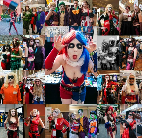 Harley Quinn Cosplay - Oz Comic-Con (Sydney, Melbourne) + Supanova (Sydney) + Emerald City Comicon - 2013/2014/2015