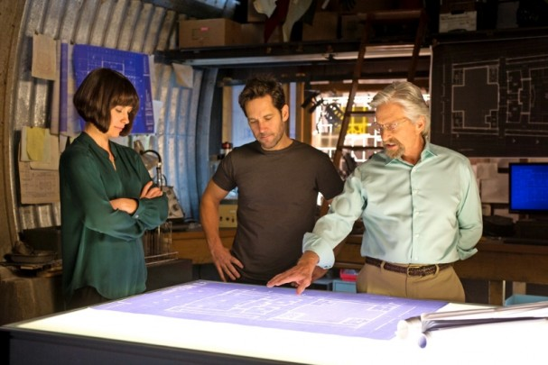 Ant-Man (2015) - Paul Rudd, Evangeline Lily and Michael Douglas