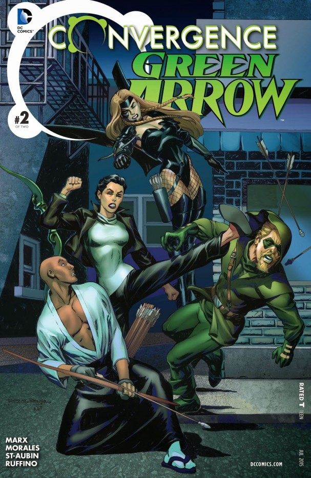 Green Arrow: Convergence #2