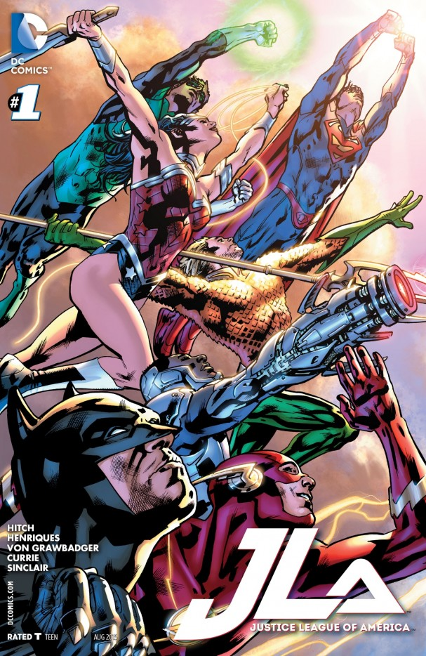 Justice League of America #1 (DC Comics) - 2015