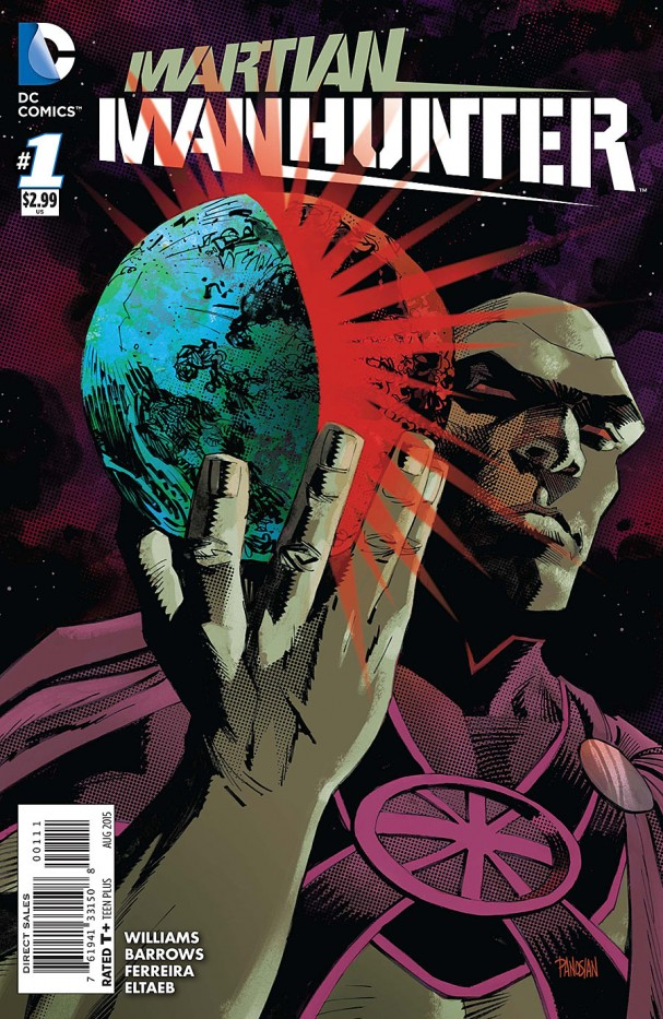 Martian Manhunter #1 (DC Comics) - 2015