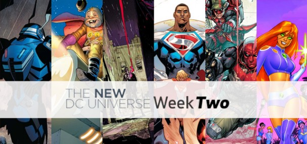 New DC Universe (2015) - Week Two