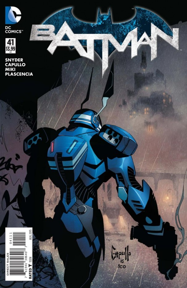 Batman #41 (DC Comics) cover (2015)