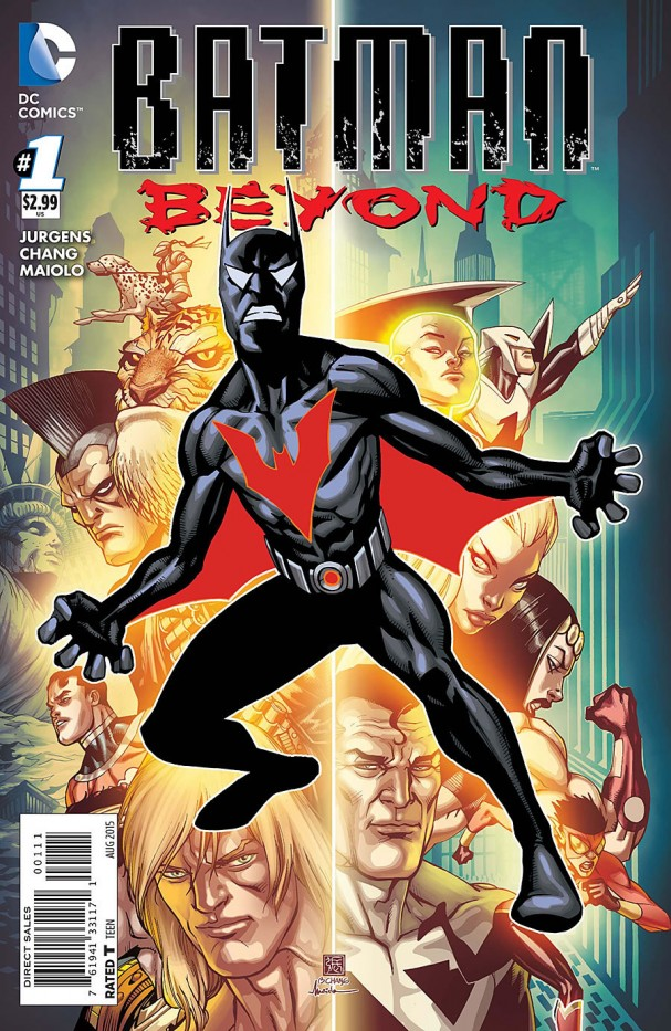 Batman Beyond #1 (2015) cover