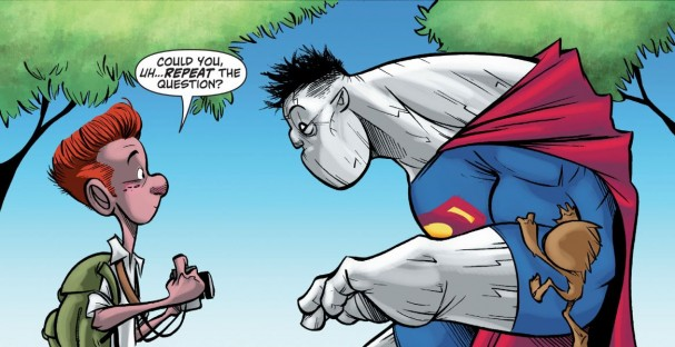 Bizarro #1 (DC Comics) - Artists:  Gustavo Duarte and Peter Pantazis