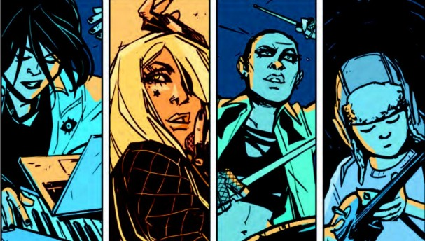 Black Canary #1 (DC Comics) - Artists: Annie We and Lee Loughridge