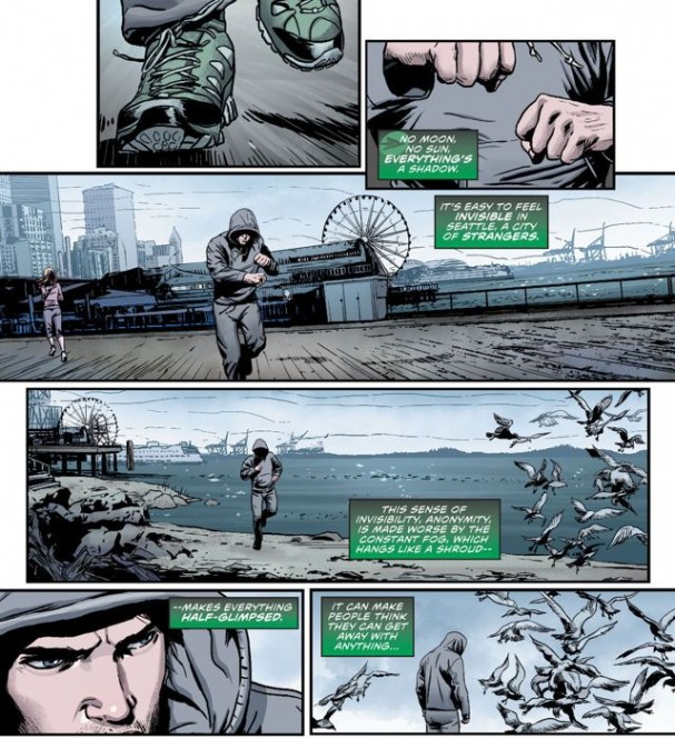 Green Arrow #41 (DC Comics). Artists: Partick Zircher & Gaeb Eltaeb