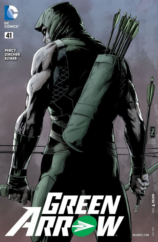 Green Arrow #41 (2015) cover. Artists: Partick Zircher & Gaeb Eltaeb