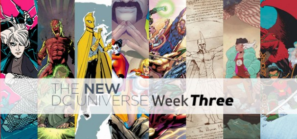 New DC Universe (2015) - Week Three