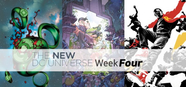 New DC Universe (2015) - Week Four