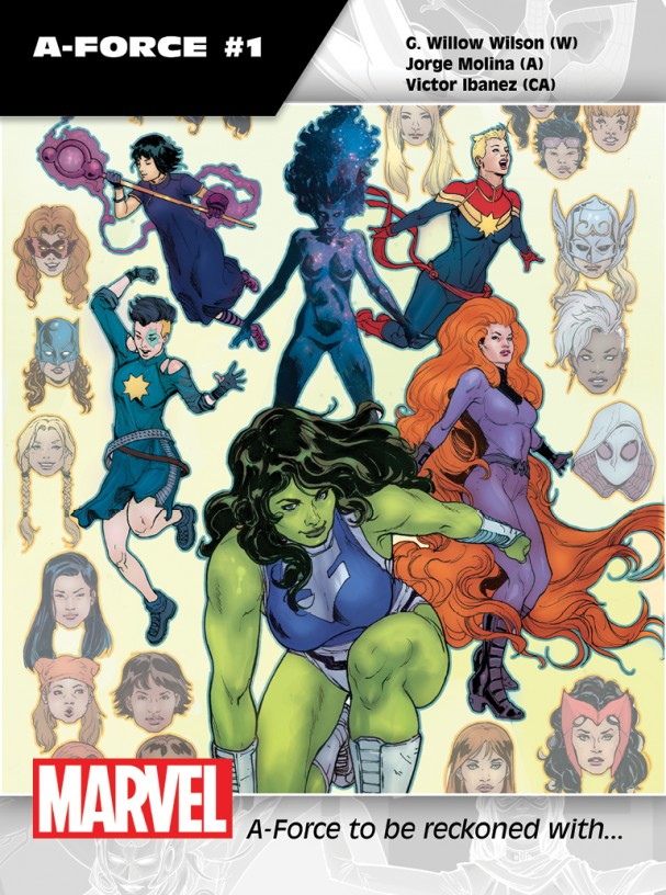 A-Force #1 Promo