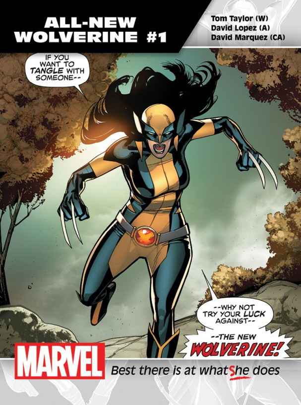 All-New Wolverine #1 Promo