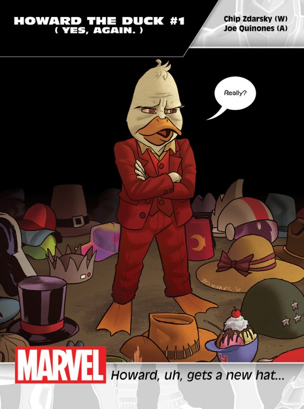 Howard the Duck #1 Promo