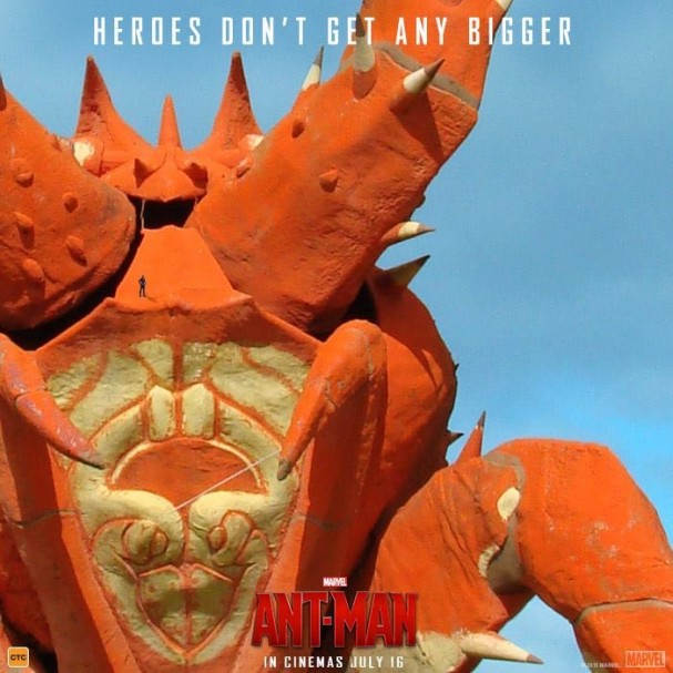 "Ant-Man - Big Things - ""Larry"", the Big Lobster"