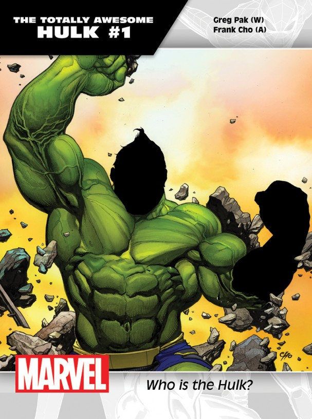 The Totally Awesome Hulk #1 promo